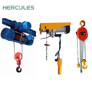 3ton Electric Chain Hoist with Electric Trolley pictures & photos