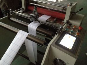 Printed Paper Roll to Sheet Cutting Machine pictures & photos