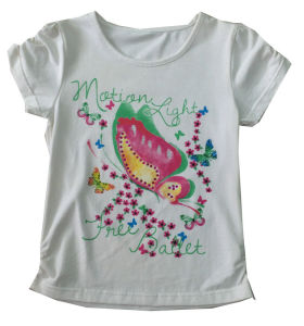 Good Quality Kids Children Custom Printed T-Shirt (SGT-025) pictures & photos
