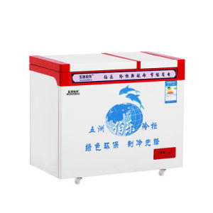 176L Large Frozen Small Refrigeration Top Open Door Freezer