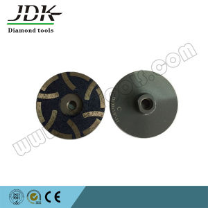"""100*5/8"""" Diamond Resin Filled Cup Wheel for Granite Grinding/Polishing Wheel pictures & photos"""