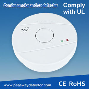 Peasway Smoke and Co Alarm Detector with En14604 Certification (PW-521) pictures & photos