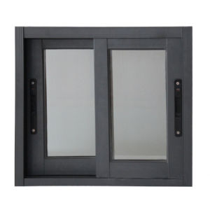 Popular Powder Coating Aluminium Vertical Sliding Glass Window (TS-1097) pictures & photos