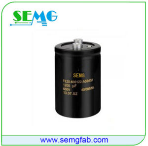 Wholesales Aluminum Electrolytic Fan Capacitor 2400UF 25V pictures & photos
