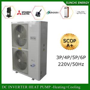 Extramely Cold -25c Winter Floor Heating +55c Hot Water Dhw 12kw/19kw/35kw/70kw/105kw Monobloc Evi Heat Pump Air Water Heater pictures & photos