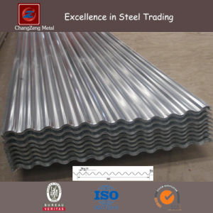 Hot Dipped Galvanized Corrugated Steel Plate for Container (CZ-CP04) pictures & photos