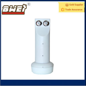 Hot Sales Universal Ku Twin LNB 9.75/10.6GHz for Global pictures & photos