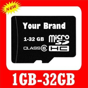 High Speed Customized Logo 64GB TF Memory Card 100% Capacity 32GB SD Micro Card pictures & photos