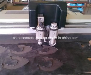 Flatbed Cutter Plotter Cut Hard Board and PVC Board Oscillating Knife Machine pictures & photos