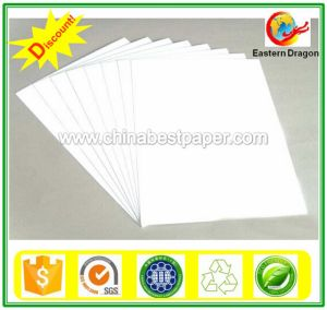Factory Sales 300g Duplex Boards White Back pictures & photos