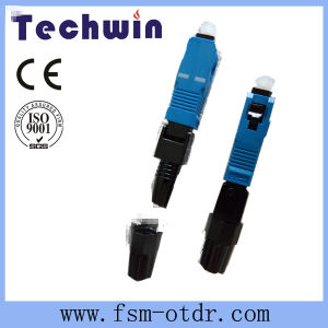 Techwin Fiber Optic Sc/Upc Fast Connector pictures & photos