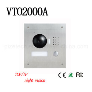 Villa Outdoor Station Vandalproof Video Door Phone {Vto2000A}