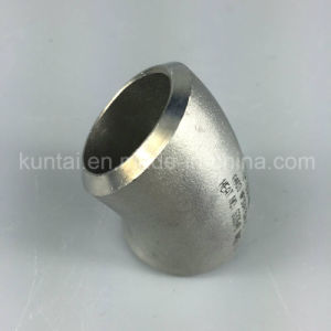 Stainless Steel Elbow Long Radius 45D Pipe Fittings (KT0029) pictures & photos