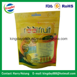 Standup Ziplock Food Packaging Bag for Dry Fruit / Dry Food /Dry Cargo