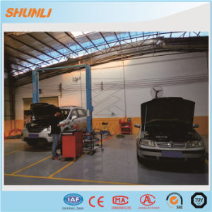 One Side Manual Mechanical Release 4 Column Car Lift pictures & photos