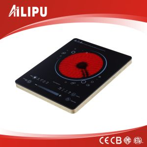 CE Certificate and Touch Screen No Radiation Plastic Housing Infrared Cooker/Ceramic Cooker pictures & photos