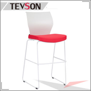 Unique and Modern Plastic Back Long Legs Bar Chair Bar Stool pictures & photos