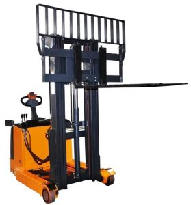 Electric Reach Stacker with Wide Mast pictures & photos