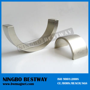 Custom Strong Arc Magnet for Motors pictures & photos