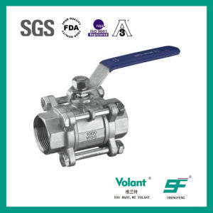 Stainless Steel Non-Retaining Ball Valve pictures & photos