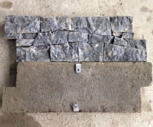 Real Chinese Factory Exterior Cement Back Wall Ledge Stone (SMC-CC157) pictures & photos