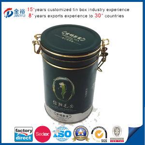Wholesale Metal Airtight Lid Locked Tea Tin pictures & photos