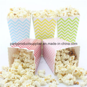 Event Party Supplies Mini Rainbow Paper Treat Bags Popcorn Box