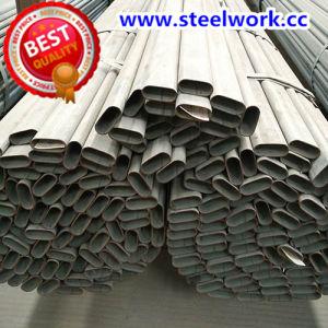 ERW Galvanized/ Annealing Welded Flat Oval Steel Pipe (T-06)