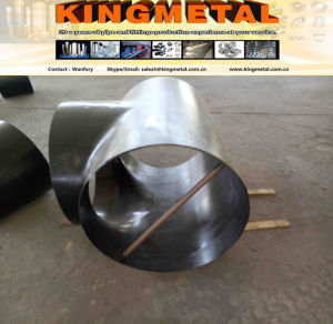 "JIS B2312 Pg370 16"" Carbon Steel Welded Reducing Tee. pictures & photos"