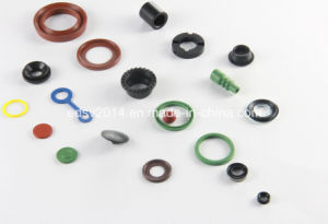 Custom Molded Vmq Silicone Rubber Gasket pictures & photos