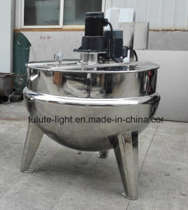 Industrial Stainless Steel Steam Cooked Jacket Kettle pictures & photos