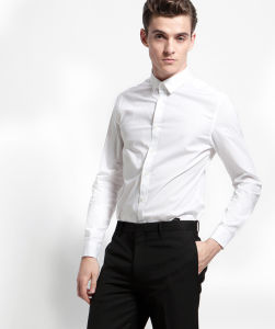 White Dress Shirt for Men pictures & photos