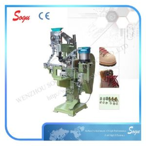Automatic Hook Button Eyeleting Machine pictures & photos