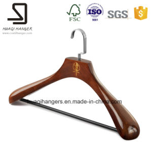 Luxury Wooden Hanger for Clothes, Jeans and Pants Hanger pictures & photos