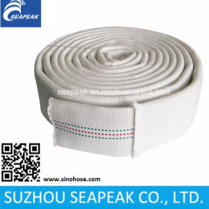 White Double Jacket Fire Hose pictures & photos