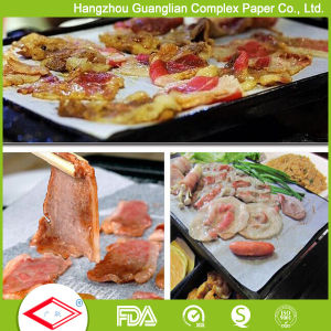 Silicone Eco-Friendly Non-Stick Baking Roast Paper Sheet for BBQ pictures & photos
