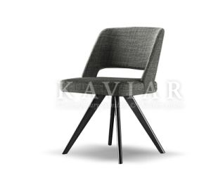 Kaviar 2015 Unique Design Solid Wood Legs Dining or Desk Chair (RA123)