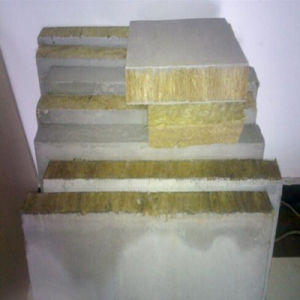 Fireproof Rock Wool Sandwich Panels for Buildings pictures & photos
