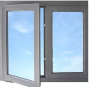 Outside-Hinged Opening Aluminum Alloy Window with Double Glass pictures & photos