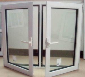 2016 Top Rank Powder Coating White Aluminum Casement Window (TS-1066) pictures & photos
