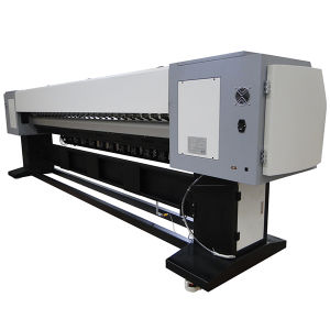 3.2m 8PCS Polaris 512/35pl Digital Inkjet Large Format Solvent Printer pictures & photos