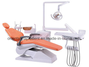 Ce Approved Dental Equipment of Dental Chair Unit for Dental Clinic, Beauty Salon, hospital pictures & photos