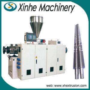 High Efficient Sjsz Series Conical Twin-Screw Plastic Extruder