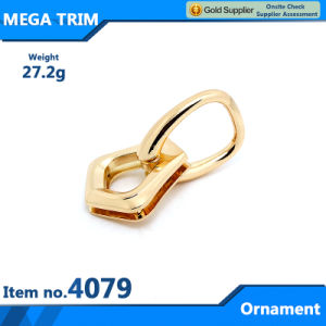 Eye-Catching Ornament for Handbag Accessorie, Shiny Light Gold Ornament pictures & photos