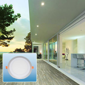 LED Spotlight/Double Color Round Panel Light pictures & photos
