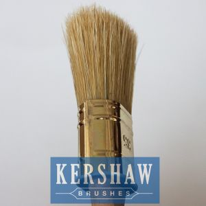 Paint Brush (Oval Brush White Bristle Paint Brush With Beech Wood Handle, paintbrush) pictures & photos