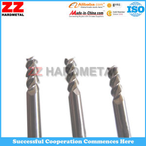 ISO Tungsten Carbide End Mills for Cutting (45HRC, 55HRC, 65HRC) pictures & photos