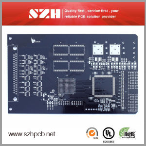 Fr4 1.6mm 1oz Black PCB with RoHS pictures & photos