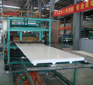 EPS Sandwich Panel Production Line pictures & photos