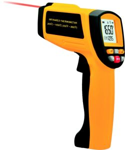 GM1650 Laser Target IR Thermometer 200 ~ 1650oc